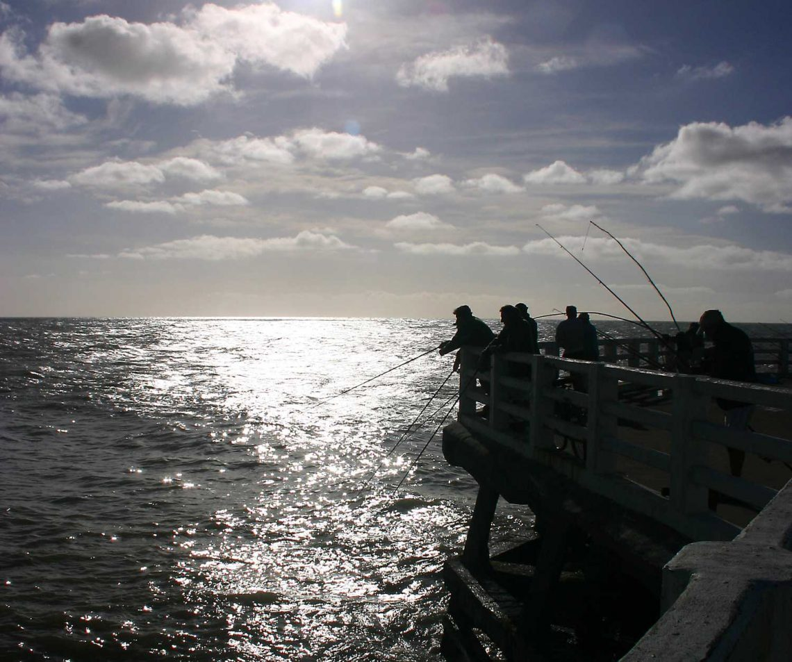 Muelle de pescadores de Miramar, Buenos Aires
