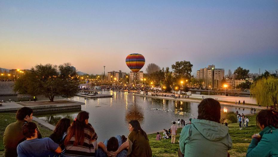 Parque Central de la Ciudad de Mendoza - foto clarín.com