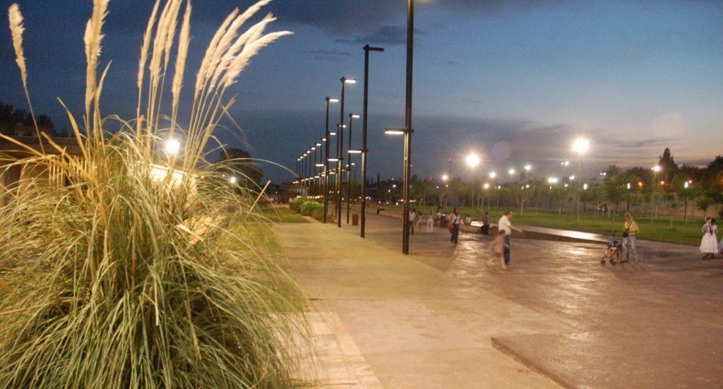 Parque Central de la Ciudad de Mendoza