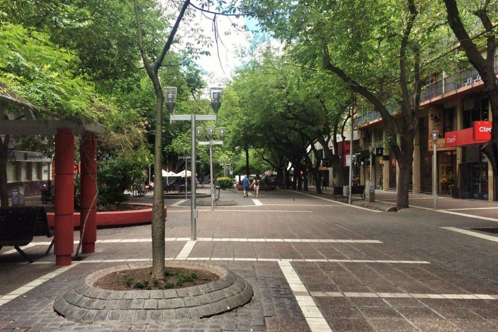 Paseo Sarmiento, Mendoza
