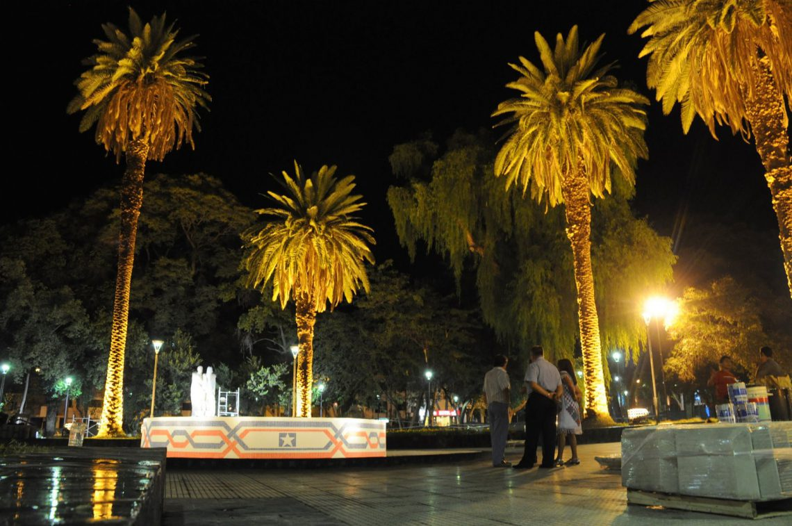 Plaza Chile, Ciudad de Mendoza