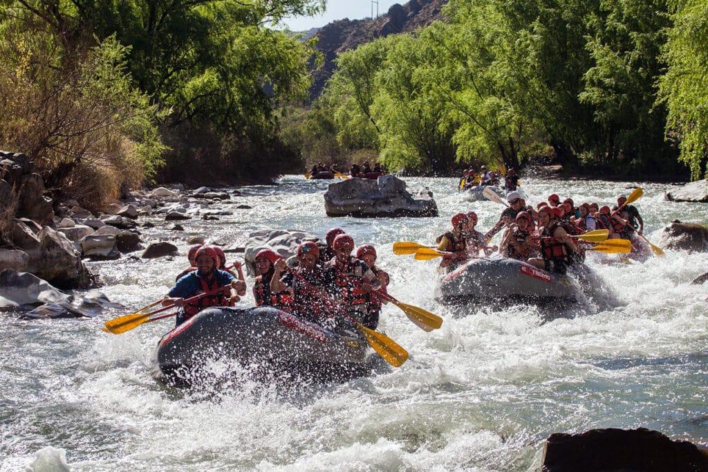 Rafting en el Cañón del Atuel, San Rafael