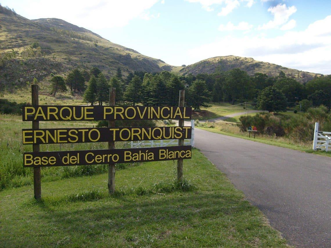 Entrada al Parque Provincial Ernesto Tornquist, Sierra de la Ventana, Buenos Aires