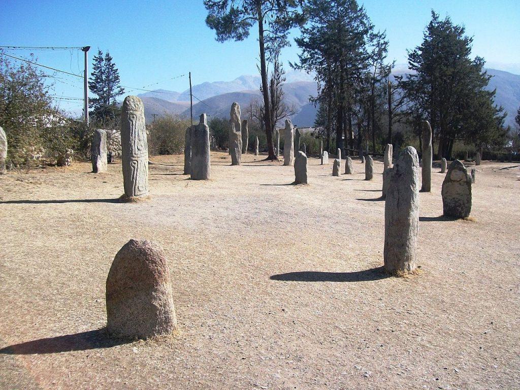 Reserva Arqueológica de los Menhires, El Mollar, Departamento de Tafí del Valle