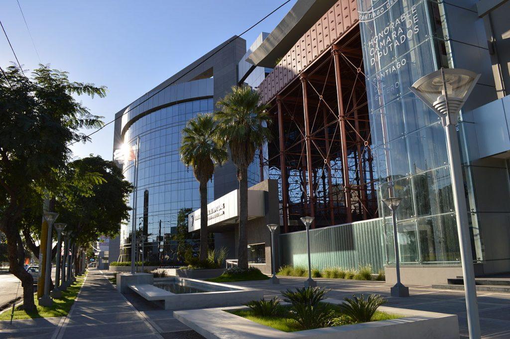 Edificio de la Cámara de Diputados de Santiago del Estero