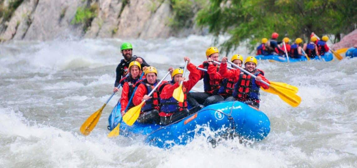 Rafting en el Río Juramento, Salta - saltarafting.com