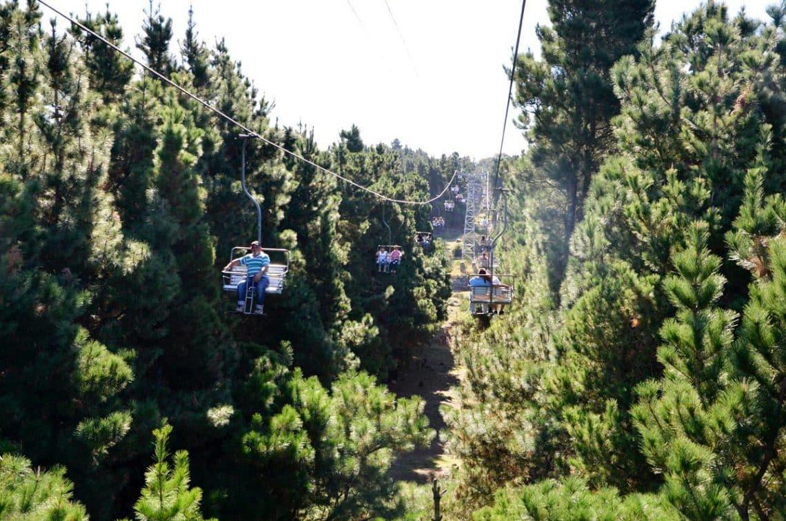Aerosillas en Cerro El Centinela en Tandil