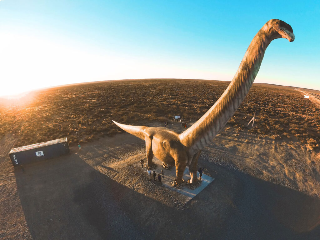 El Dinosaurio mas grande del mundo, Trelew - Foto: Matias Tusso