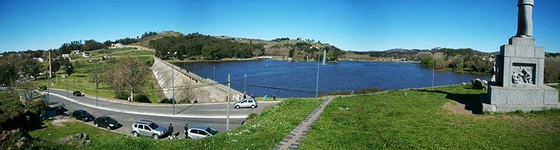 Lago del Fuerte en Tandil - lugares imperdibles de Tandil