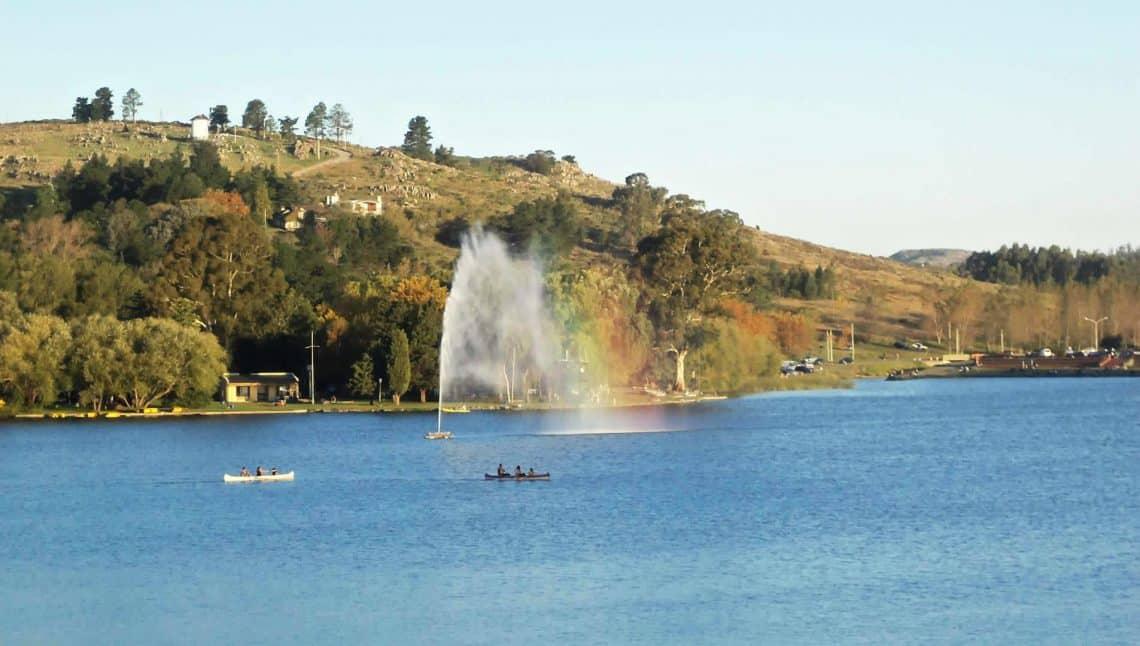 Lago del Fuerte en Tandil en Buenos Aires