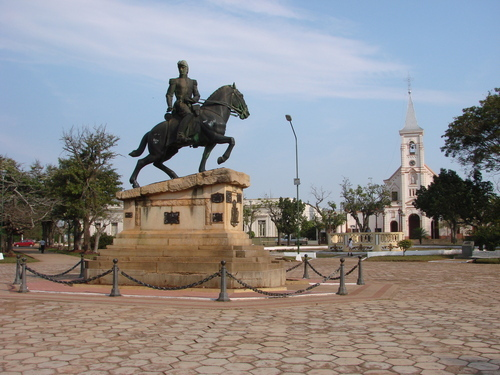 Plaza San Martín, Santo Tomé, Corrientes