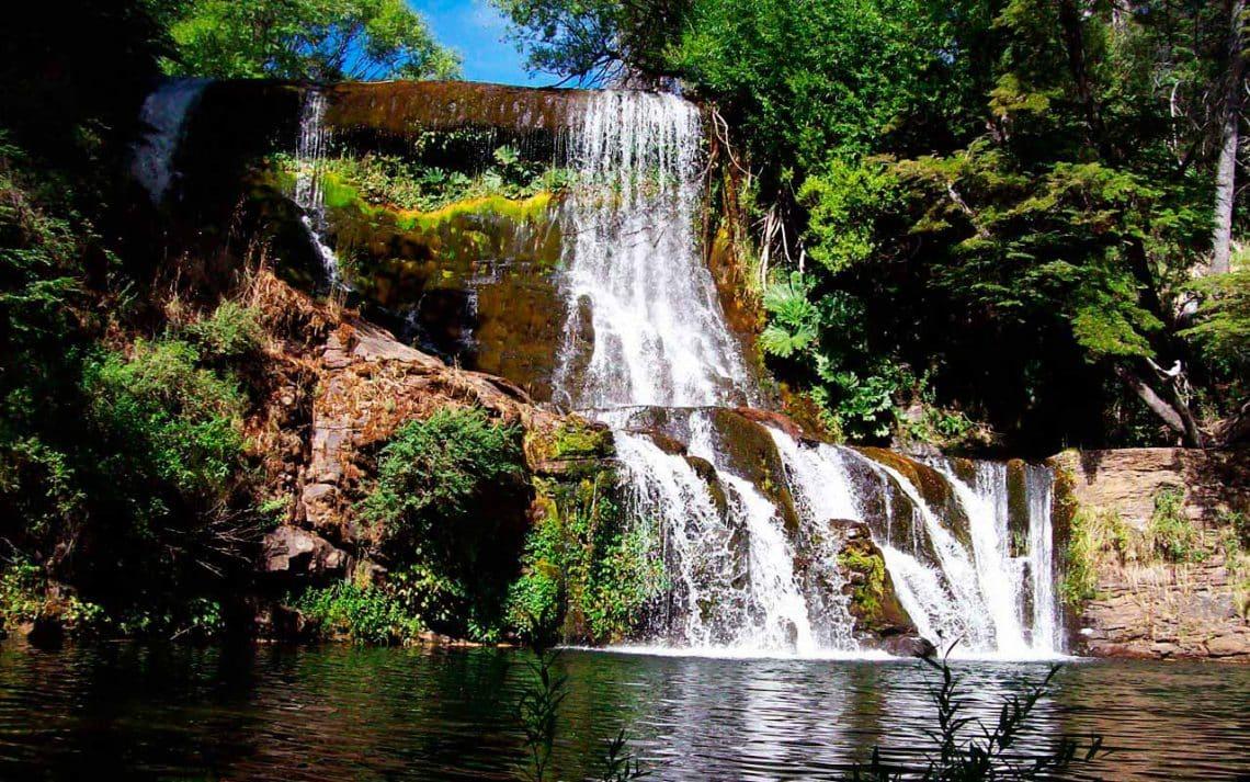 Cascada de Mallín Ahogado, El Bolsón, Río Negro
