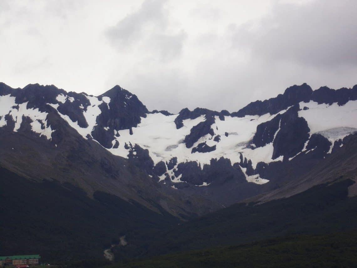 Glaciar Martian en Ushuaia
