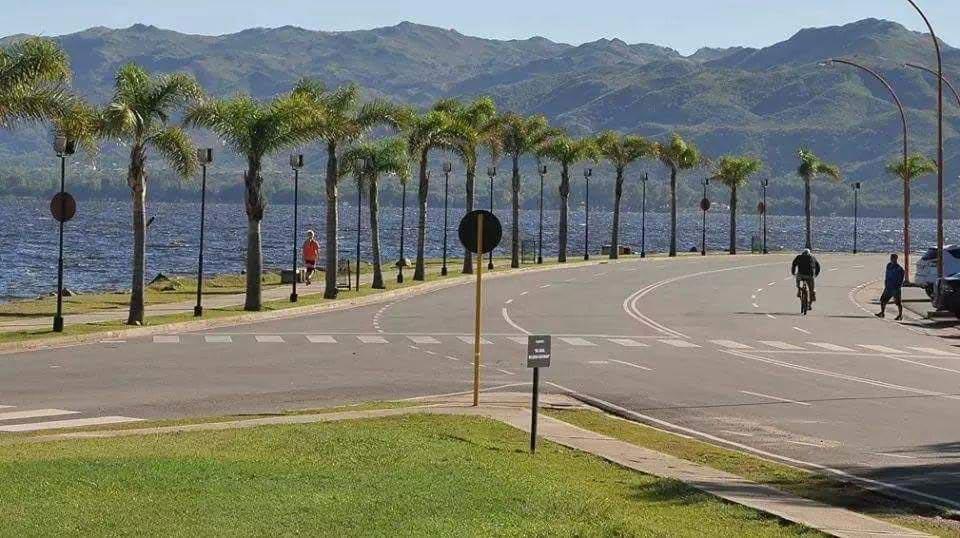 Palmeras costanera de Villa Carlos Paz, Córdoba
