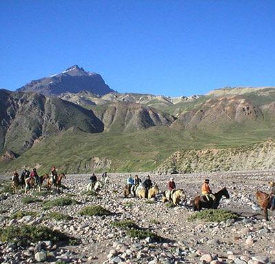 Alto Valle del Rio Tunuyan en Mendoza