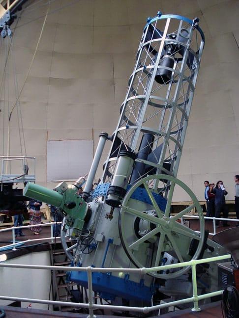 El telescopio de 1,5m con el Espectrógrafo Multifunción