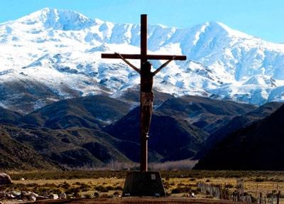 Cristo de la Hermandad en Tunuyán, Mendoza