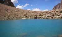 Laguna del tapon, tunuyan, mendoza
