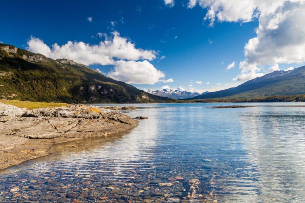 Bahía Lapataia, Ushuaia, Parque  Nacional Tierra del Fuego