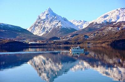 Navegaciones por el canal beagle en Ushuaia