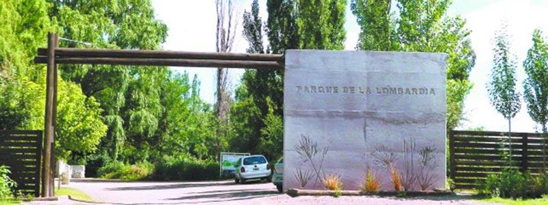Parque de la Lombardia, Tunuyan, Mendoza