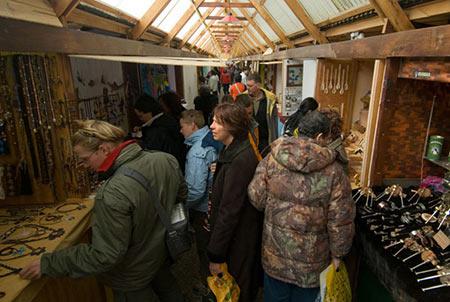 Paseo de los artesanos de Ushuaia
