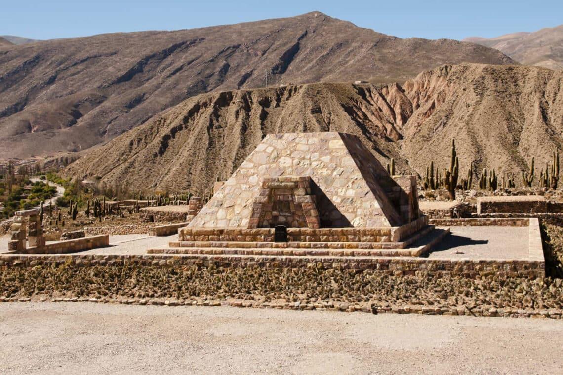 Pirámide del Pucará de Tilcara