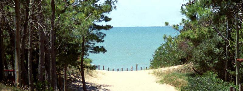 Las playas de villa gesell