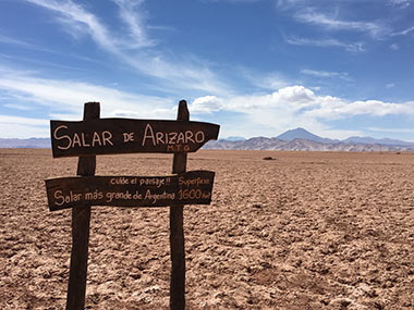 Salar de Arizaro, Tolar Grande