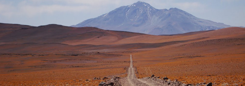 Volcan Socompa en Tolar Grande, Salta