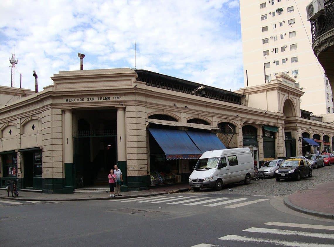 Mercado de San Telmo, Ciudad de Buenos Aires