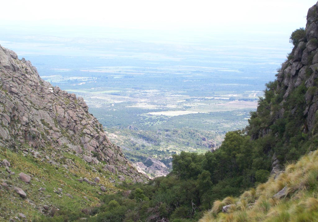 Cerro Blanco, Valle de Conlara, Merlo