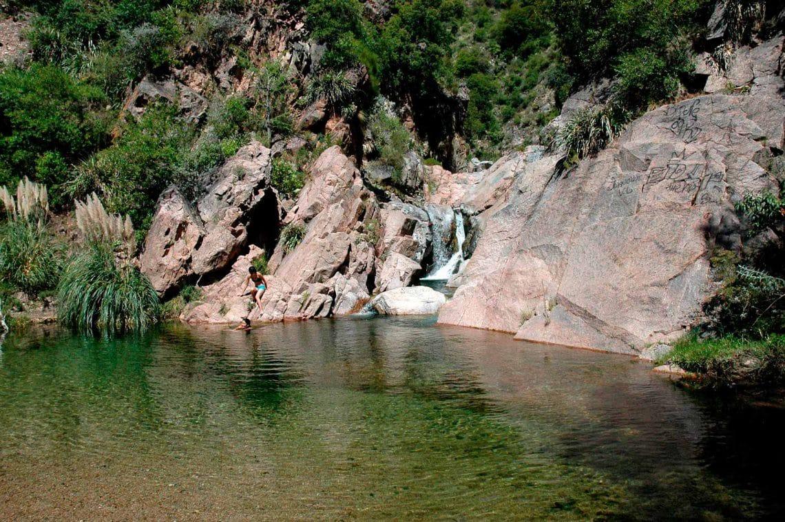 Arroyo Papagayos, Merlo