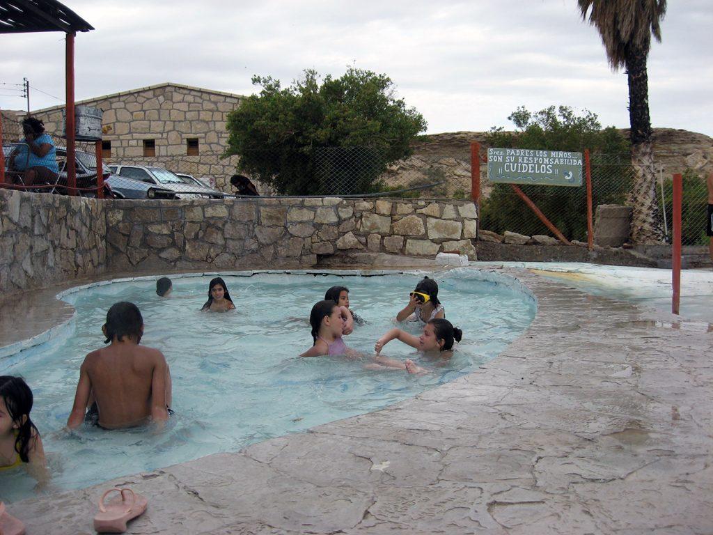 Termas de La Laja, San Juan