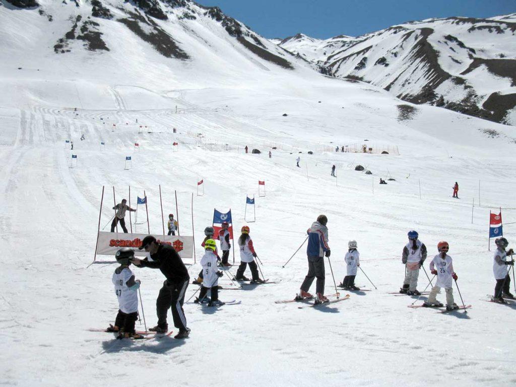 Los Puquios Parque de Nieve, Mendoza