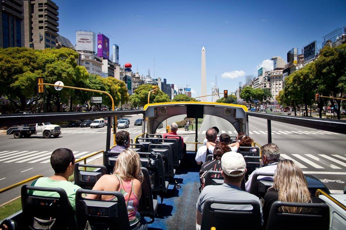 Bus turístico de la ciudad de Buenos Aires - Turismo Accesible - Buenos Aires turismo