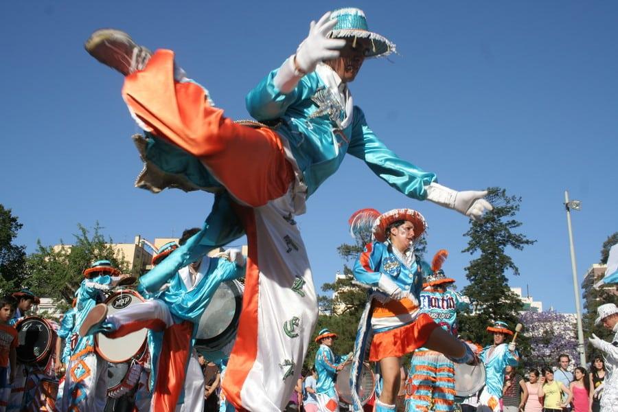 Murga en el Carnaval de la ciudad de Buenos Aires - foto: Gobierno de la Ciudad Autónoma de Buenos Aires