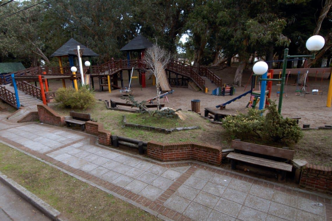 Plaza Don Bosco, San Bernardo del Tuyú, Partido de la Costa, Buenos Aires