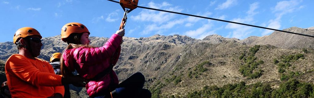 Turismo Aventura, Tirolesa en Merlo