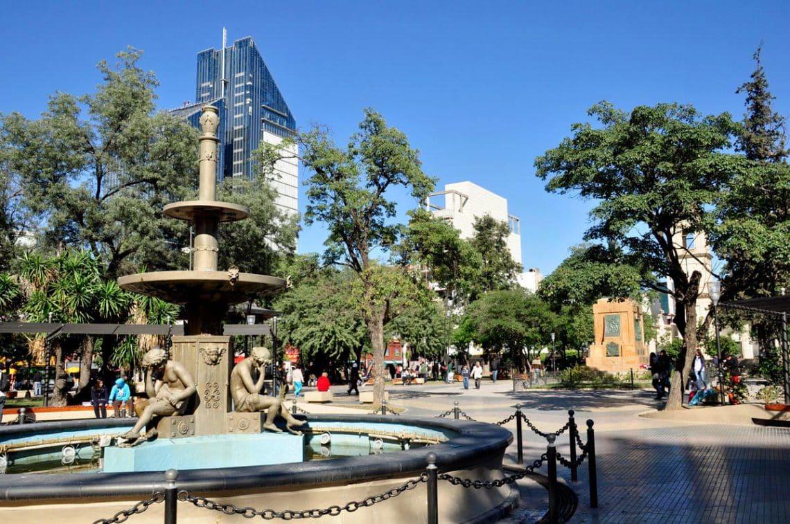 Plaza Libertad, Santiago del Estero