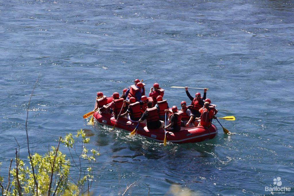 Rafting en Bariloche barilocheturismo.gob.ar