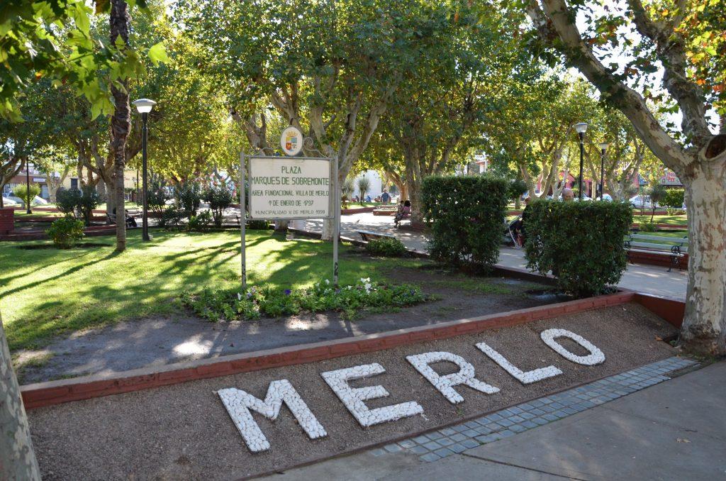 Plaza Marqués de Sobremonte, Villa de Merlo, San luis
