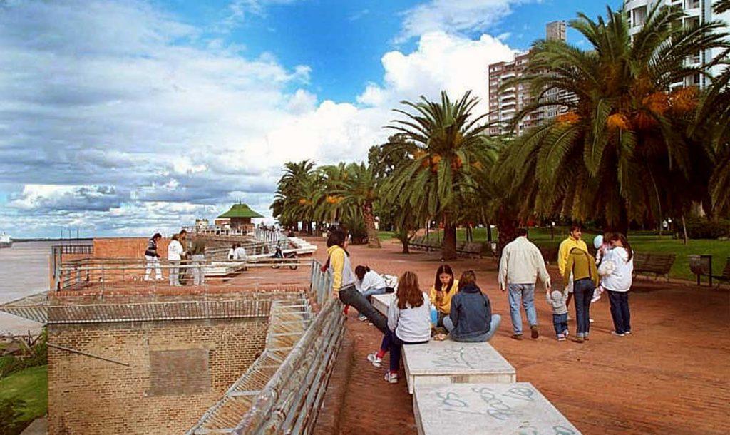 La ciudad de Rosario en Verano