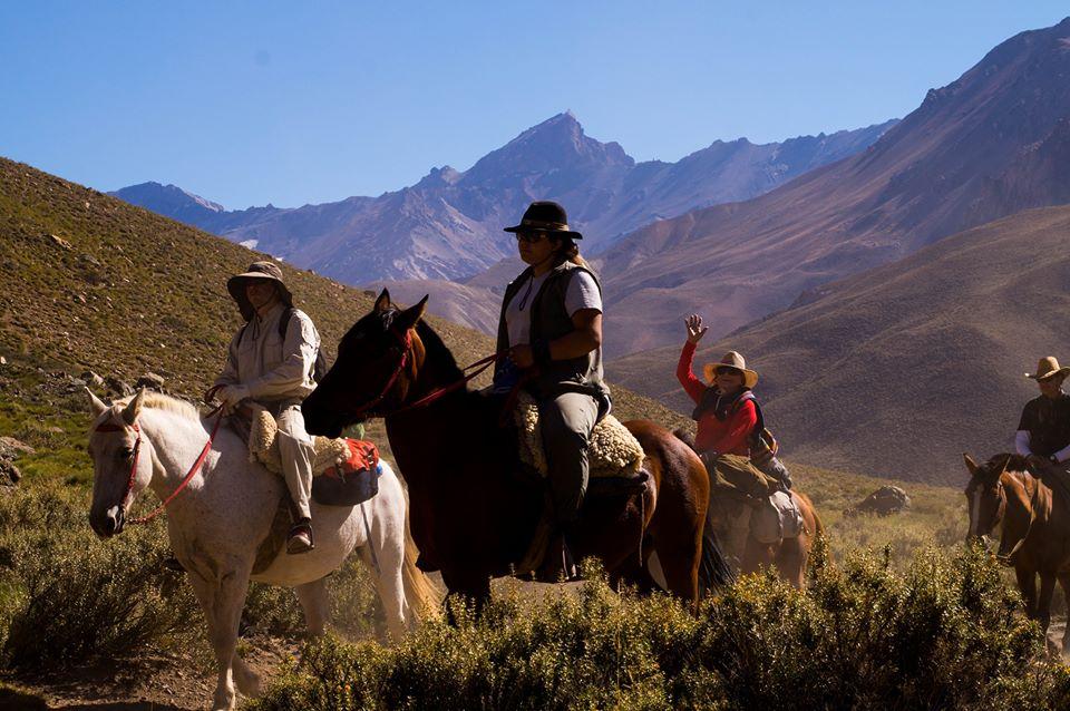 Cabalgata por Los Molles, Mendoza- www.malargue.tur.ar