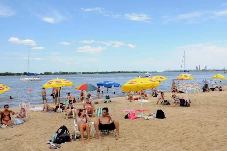 Playa La Florida de Rosario - foto: Municipalidad de Rosario