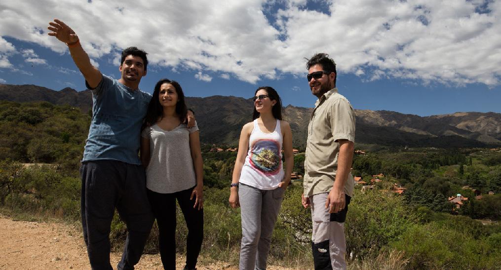 Pasos Malos y Peñon del Colorado - Secretaría de Turismo de Merlo