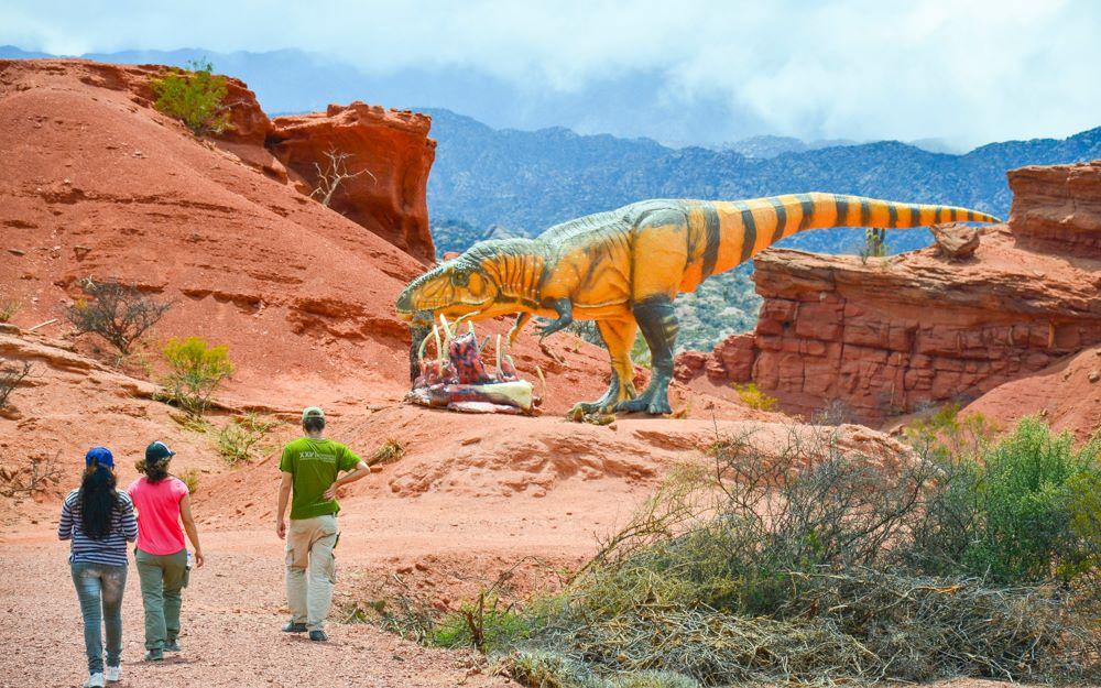 Parque Arqueológico de Sanagasta, Parque de Dinosaurios - La Rioja Turismo