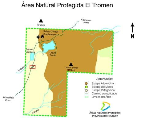Plano El Tromen, Neuquén