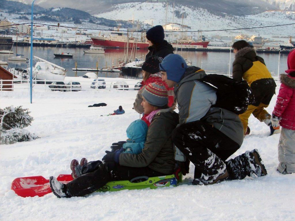 Ushuaia en Invierno, foto: Secretaria de Turismo Municipalidad de Ushuaia