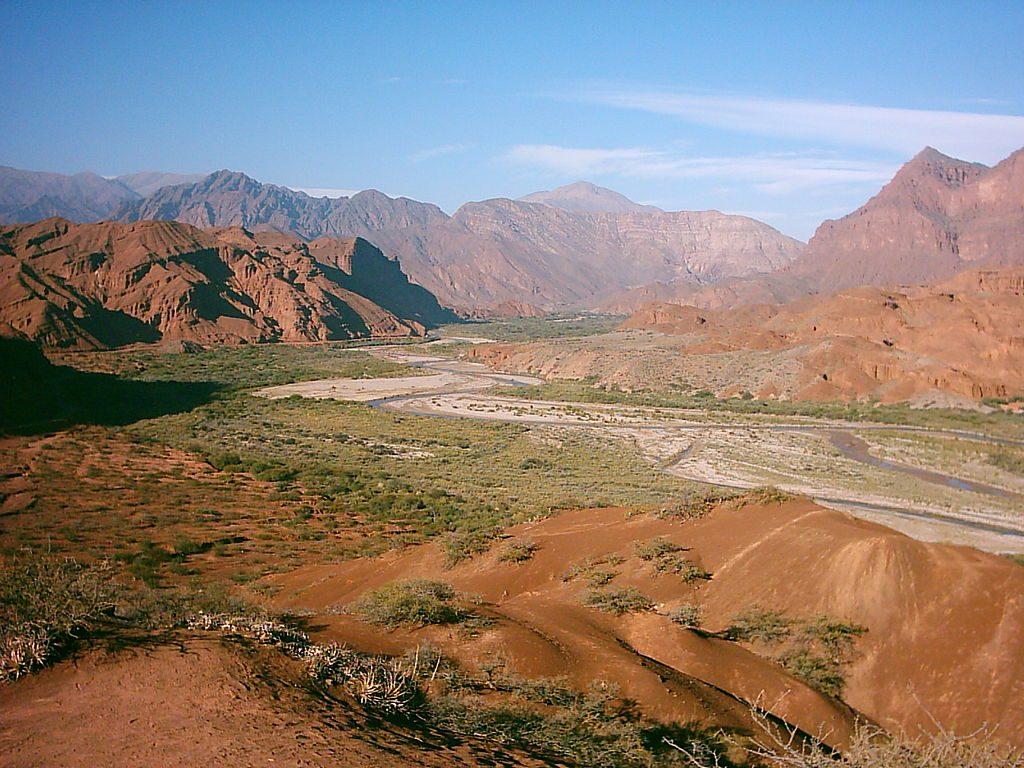 Mirador Tres Cruces - Quebrada de las Conchas - Salta